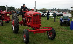 Farmall M Tractor. (Branxholm) Tags: plough plow harvest farm ranch cattle sheep horse wheat corn oats crawler bulldozer farmall case moline oliver john deere