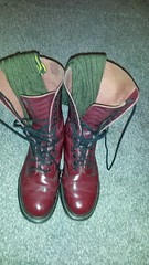 20161208_073238 (rugby#9) Tags: drmartens boots icon size 7 eyelets doc docs doctormarten martens air wair airwair bouncing soles original 14 hole lace docmartens dms cushion sole yellow stitching yellowstitching dr comfort cushioned wear feet dm 14hole cherry indoor 1914 boot footwear shoe socks bootsocks greensocks greenbootsocks