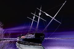 Abstract - Grand Hermine 9206- (RG Rutkay) Tags: grandhermine jordan jordanharbour lakeontario ontario abandoned shipwreck abstract solarization tallship