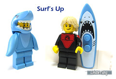 Surf's Up (WhiteFang (Eurobricks)) Tags: lego collectable minifigures series city town space castle medieval ancient god myth minifig distribution ninja history cmfs sports hobby medical animal pet occupation costume pirates maiden batman licensed dance disco service food hospital child children knights battle farm hero paris sparta historic