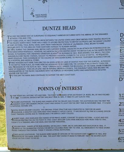 Duntze Head history & points of interest