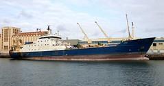 """ATLAS"" - IMO 8802997 (Rick Vince) Tags: franziska atlas imo8802997 fishingvessel fishingship fishfactory trawler puertodelaspalmas"