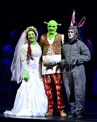 Fiona, Shrek, Donkey (R.A. Killmer) Tags: musical bethelpark shrek fiona donkey stage talented entertainer performance actors