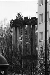 Białystok (Qdłaty) Tags: spacerak 400mm f65 podlaskie białystok bw luty blackandwhite film polska 2017 bialystok podlasie tokina400 nikon tokina analog poland