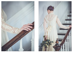 I love Bridal Photography (sunnyfleur) Tags: styled bridal wedding flowers gown dress house venue