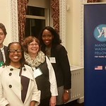 CAS staff with Morgan McClain-McKinney at Mandela Washington Fellowship for Young African Leaders retreat, Washington, DC.