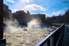 the balcony_HDR (le Brooklands) Tags: barrage d7000 dam eau hdr magog québec river rivière sherbrooke sigma1224mm water