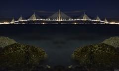 Rion-Antirrion Bridge (KOSTAS PILOT) Tags: greece peloponese achaia patra rionantirrionbridge bridge sky sea longexposure rock coast beach mediterranean ionion kostaspilot pylon cablestayed paliovouna patraikos nikon nikon3300 ελλάδα πελοπόννησοσ αχαιασ πατρα γεφυραριουαντιριου γεφυρα νυχτα θαλασσα βραχοσ παλιοβουνα ιονιον μεσόγειοσ creative patras