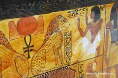 Akhet and Ankh (konde) Tags: newkingdom 19thdynasty sennedjem tt1 tomb coffin khonsu deities deirelmedina ancientegypt ankh akhet hieroglyphs treasure art