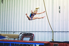 365 Project - March 14 (lupe1515) Tags: 365 project hannah gymnastics trampoline straddle jump