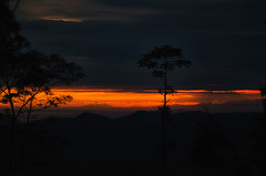Munduk at sundown (Kelly Renée) Tags: bali indonesia munduk seasia clouds mountains silhouette sunset travel trees