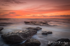 DSC_0007-1 (forbesy10) Tags: sea seascape waves tide sunrise clouds coast seatonsluice rocks northumberland