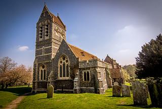 Ospringe church..