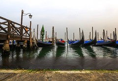 Venedig (Radek Lokos Fotografie) Tags: bridge taxi gondola isle outside boat water sea italia italy italien venezia venedig