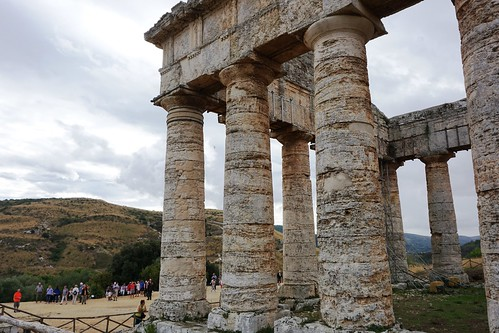TEMPLE OF SEGESTA, dimensional proportions,  series 3/3