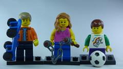 Brick Yourself Bespoke Custom Lego Figure Ninja Sister!