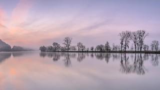 *Silent River @ pre sunrise*