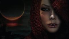 La face cachée (Petite Chouky) Tags: petite chouky gaeg barbara face cachee eclipse mesh sl second life head portrait