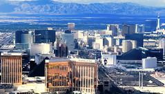 Las Vegas Strip. September. (Jeff in Henderson) Tags: lasvegas strip nevada gaming hotels casinos aerial mandalaybay airplane landscape aria wynn tropicana mountains mgm montecarlo stratosphere