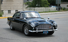 Aston Martin DB5 (SPV Automotive) Tags: aston martin db5 coupe classic exotic sports car black