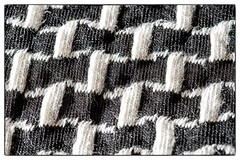 My favourite B&W dress (Inky-NL) Tags: fabric macromondays macro mm hmm ingridsiemons©2017 fujixt2 fuji60mmf24 stof textiel texture cloth textile clothtextile kleding kledinkstuk