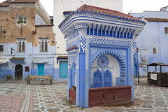 Market Square in Chefchaouen's Medina (adventurousness) Tags: bluecity chefchaouenthebluepearl thebluecity blue chaouen chefchaouen morocco travel medina square