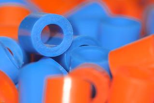 ... orange and blue ...