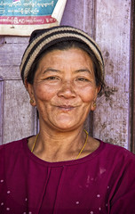 Palaung woman (bag_lady) Tags: palaung ethnic tribal ethnicminority myanmar burma kalaw hilltribe portrait shanstate culture tradition