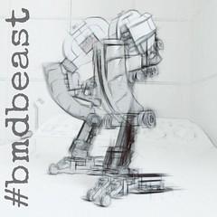 R&D Osterch Legs - Beast Mech Concept (Marco Marozzi) Tags: lego legodesign legomech mech moc afol marco marozzi beast robot