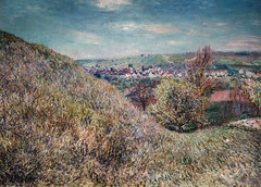 Alfred Sisley - On the Hills of Moret in Spring, 1880 at Princeton University Art Museum NJ (mbell1975) Tags: princeton newjersey unitedstates us alfred sisley on hills moret spring 1880 university art museum nj museo musée musee muzeum museu musum müze finearts fine arts gallery gallerie beauxarts beaux galleria painting new jersey french impression impressionist impressionism landscape paysage