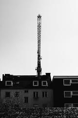 I (MobilShots) Tags: blende1 blende1net patrickgorden city fotograf fotografhamburg fuji fujifilm hamburg outdoor street urban xt1 architecture crane sky blackandwhite monochrome buildings