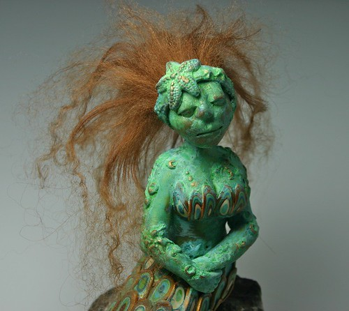 antique mermaid
