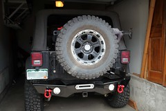 Jeep Rear Bumper (jchurch) Tags: jeep rear tire bumper hd winch carrier customs 2010 wrangler