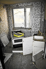 Chernobyl kitchen (MoraTilTordis) Tags: abandoned kitchen radiation ukraine disaster second chernobyl pripyat