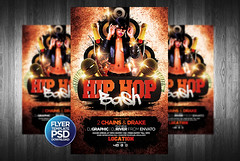 HipHop Flyer Template (grandelelo) Tags: show street party summer people urban music black rock set club night underground advertising poster graffiti concert artist dj live cd rich ad advertisement mixtape event cover vip hiphop hip hop rap pimp rapper template