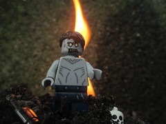 Silent as the Grave (Blueberrybricks) Tags: halloween nature grave monster flesh dead fire skull scary lego suburban outdoor zombie destruction attack apocalypse run creepy spooky flame hide walker damage demon undead virus voodoo survivor ghoul fallout minifigure legography