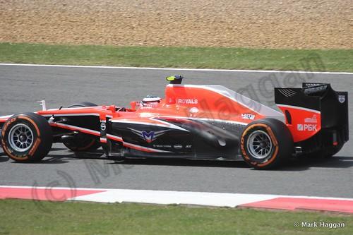 Max Chilton in the 2013 British Grand Prix