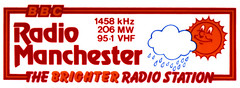 BBC Radio Manchester car sticker