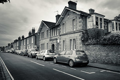 College Street (andrewasmith) Tags: street houses brick cars perspective stratforduponavon terraced