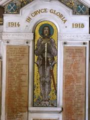 Joan of Arc (K.G.Hawes) Tags: france church french cathedral lyon mosaic creative arc joan halo commons cc armor creativecommons hero heroine sword knight warrior jeanne armour armored darc lyons armoured lyonnais