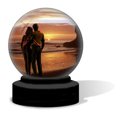 Vacation Crystal Ball (Utah Images - Douglas Pulsipher) Tags: ocean california sea vacation people woman man men love beach glass loving female hope coast hugging hug couple waves affection tide dream couples romance cliffs fortune dreaming pacificocean sphere shore future dreams hopes wishes romantic coastline wish embrace seashore fortuneteller spheres affectionate globes prediction rugged snowglobe fortunetelling possibilities crystalball embraced snowglobes predict embracing possibility predictions seascapessunset womenmale
