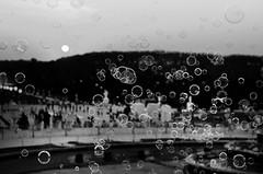 Bubbles Over Versailles (aha42   tehaha) Tags: bw paris france bubbles versailles nikkor50mmf14daf nikoncapturenx2 nikond7000
