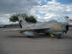 """MiG-17F (2) • <a style=""""font-size:0.8em;"""" href=""""http://www.flickr.com/photos/81723459@N04/9442964815/"""" target=""""_blank"""">View on Flickr</a>"""