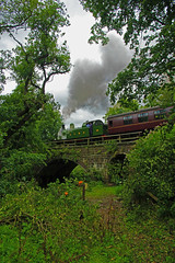 Lambton Hetton & Joicey Colliery No29 (Stephen Robb Photography) Tags: bridge trees sun white black clouds train canon river canal crossing tank smoke yorkshire railway loco tunnel steam number company valley user cutting maze moors crops locomotive forge staffordshire coaches hetton colliery lambton n7 nymr cheddleton norht froghall leekbrook cauldon consall churnet joicey lampton29