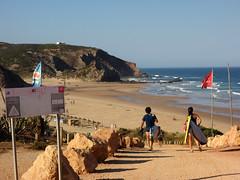 Praia do Amado (genchi71) Tags: trip travel vacation holiday praia beach portugal surf mare algarve viaggi spiaggia portogallo amado carrapateira