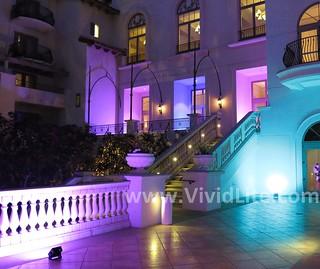 Wireless LED Lighting by VividLite-Hotel and Resort Illumination-Wireless-Event-Lighting