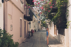 Flowery alley (Marko Rosic) Tags: travel summer holiday europe greece relaxation vacations skiathos leto grcka  traveldestinations mesta dogaaji