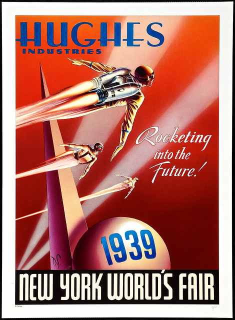 """The Rocketeer 20th Anniversary (Walt Disney Pictures, 2011). Limited Edition Giclee Poster (27.5"""" X 38"""")."""