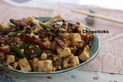 Ma Po Tofu (Chinese Pockmarked Old Lady's Tofu) 1 (wanderingchopsticks) Tags: old ma tofu chinese ladys po szechuan sichuan pockmarked doufu wanderingchopsticks