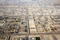 a town in the desert (Val in Sydney) Tags: from above uae abu dhabi